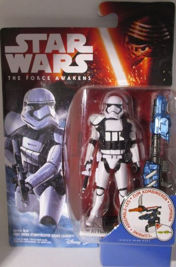 First Order Stormtrooper Squad Leader | Episode 7 Figur OVP