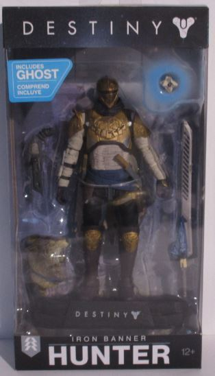 Iron Banner Hunter | DESTINY Exklusiv Figur OVP